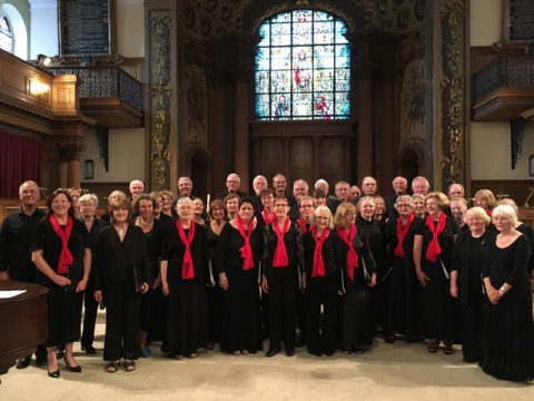 The Grove Singers with Brittany Choir, Les Arthuriens and members of the London Octave Choir